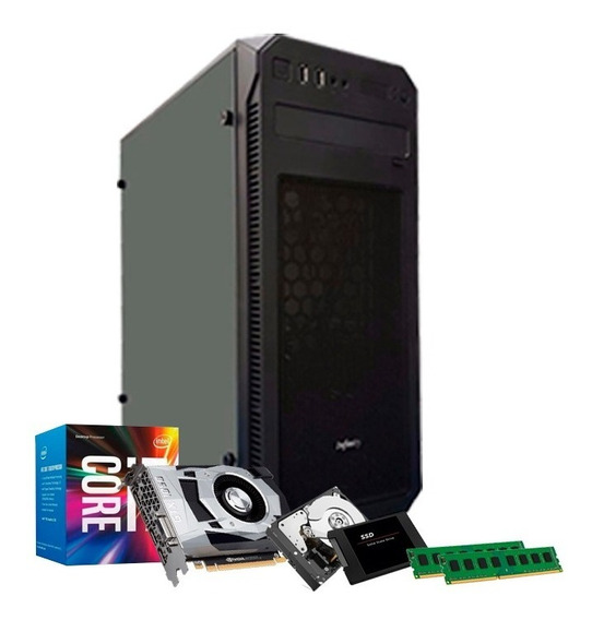 Pc I7 3770, Hd 1tb, 16gb, Ssd 240gb, 4gb 1050 Gtx Ti + Nf