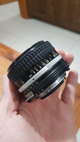 Lente Nikon 50mm 1.4 Ais - Nikkor - Impecavel