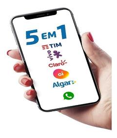 Chip M2m Alga Telecom P/ Rastreadores - Plano Anual