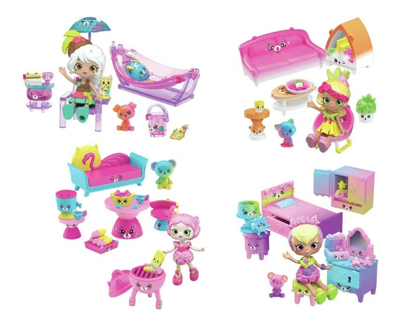 Shopkins Happy Places Casinha Surpresa Rainbow Beach 5079