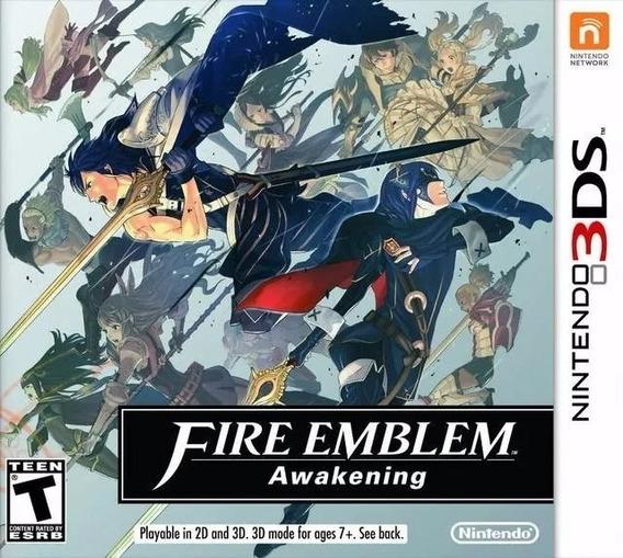 Fire Emblem Awakening 3ds Lacrado