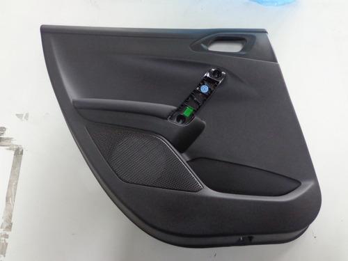 Imagem 1 de 3 de Painel Porta Traseiro Esquerda Peugeot 208 Original
