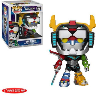 Funko Pop 6 Animation Voltron