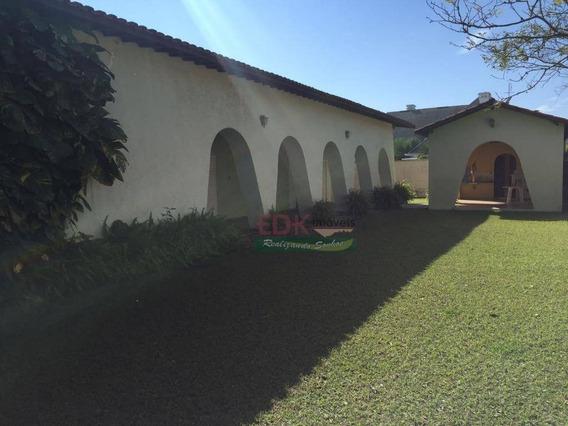 Casa Com 4 Dormitórios À Venda, 350 M² Por R$ 1.200.000,00 - Caminho Novo - Tremembé/sp - Ca1458