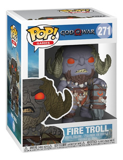 Funko Pop God Of War Fire Troll Oficial Accesorios Ps4 Gow 4
