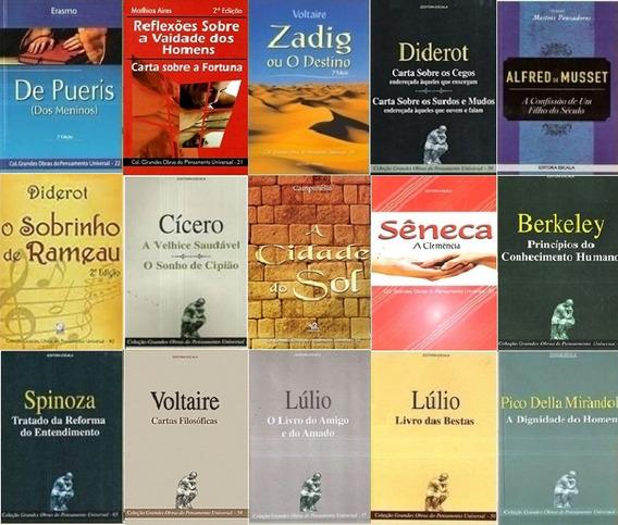 Lote Com 15 Livros Filosofia Sociologia Pensadores Promoção
