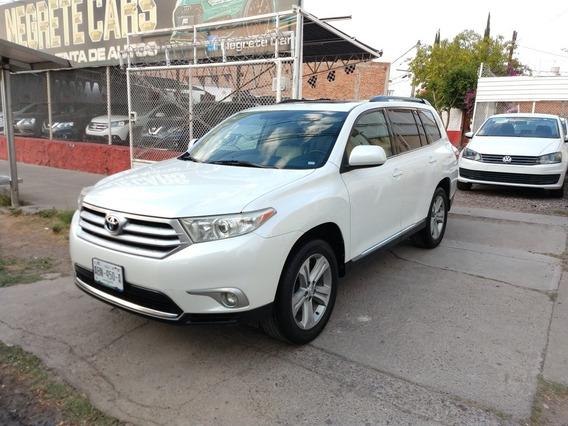 Toyota Highlander 2012 3.5 Limited Mt