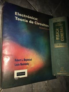 2 Libros De Electrónica Y Fisica General