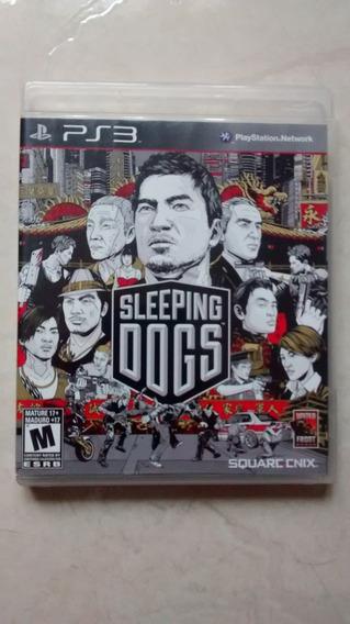 Jogo Original Sleeping Dogs Para Ps3