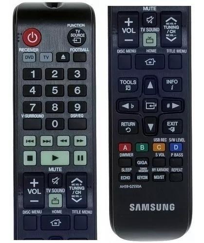 Controle Home T. Samsung Original F550k/f553k Ah59-02550a