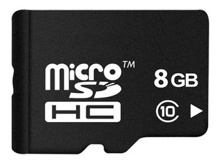 Memoria Micro Sd 8gb 8 Gb Oem Celular Gps Tablet Calidad