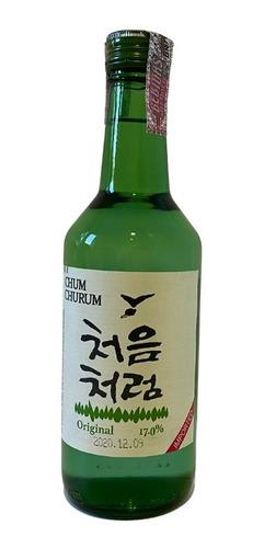 Imagem 1 de 1 de Soju Coreano Original Chum Churum Lotte 17% Alcool Coreia