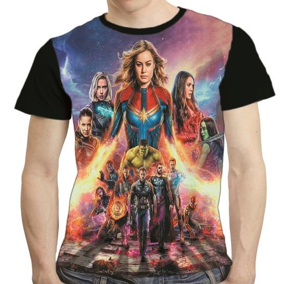 Camisa Avengers Camiseta Thanos Vingadores Endgame 03