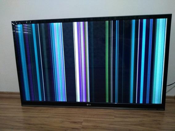 Tv 42 Led Lg 42ls5700 Full Hd Com Smart Tv - Com Listras