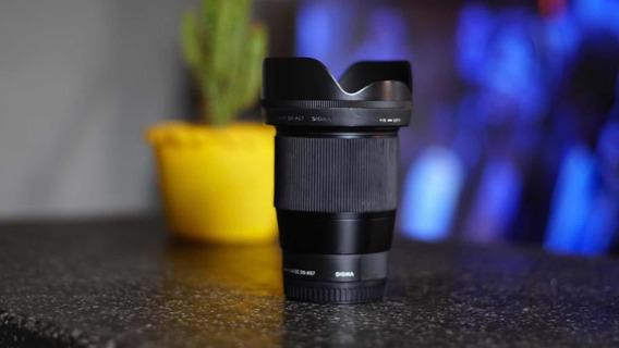 Lente Sigma 16mm F/1.4 Dc Dn Para Sony