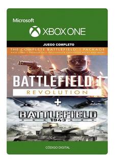 Battlefield 1 Revolution + Battlefield 1943 Xbox One Codigo