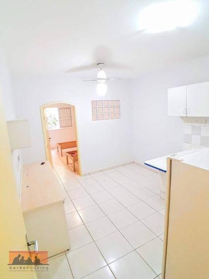 Kitnet Com 1 Dormitório Para Alugar, 30 M² - Próximo Ao Aulus E Entrada Unicamp Na Av. 2 - Kn0054