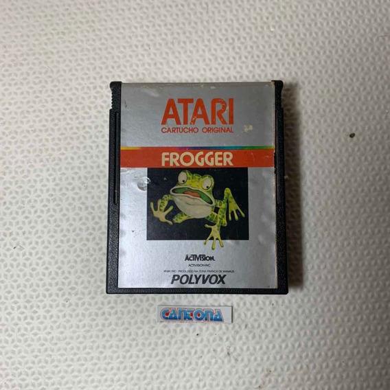 Frogger Original Polyvox Para Atari 2600 Compatíveis