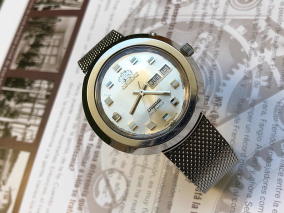 Reloj Orient Crystal 27 Joyas Automatico Vintage
