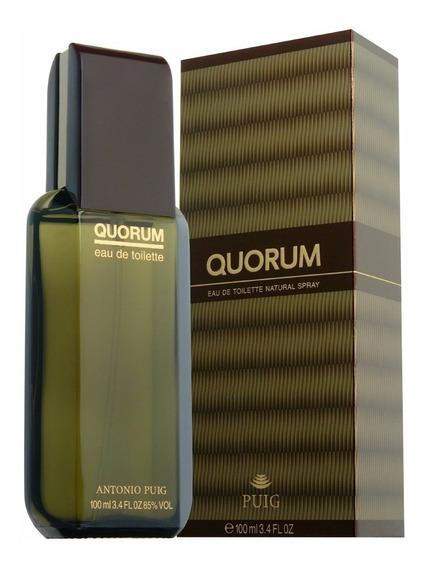Perfume Quorum Antonio Puig Edt 100ml Masc 100%original