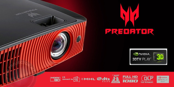 Projetor Acer Gamer Predator Z650 2200 Lumens 1080p 3d