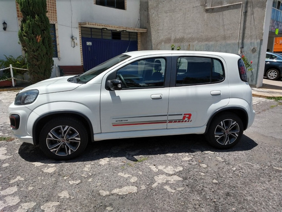 Fiat Uno Sporting,modelo 2018, Color Blanco