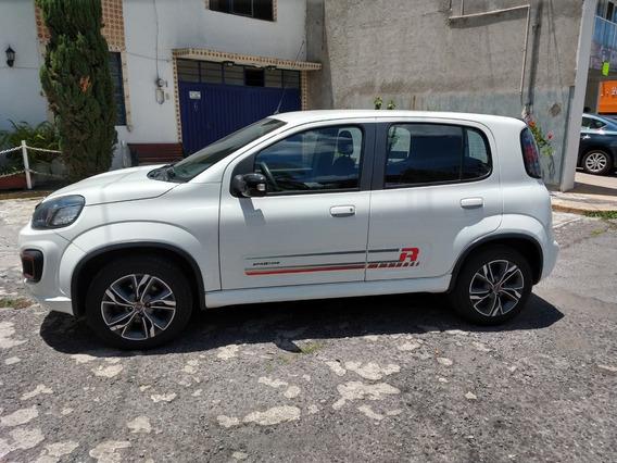 Fiat Uno Sporting,modelo 2018, Color Blanco