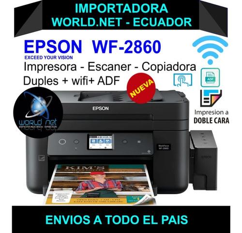 Impresoras Epson Wf 2860  - L3110 - L3150 - L4160