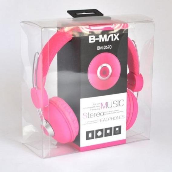 Fone De Ouvido Stereo Headset Com Microfone Bm-2670