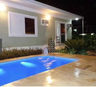 Casa Com 4 Dormitórios À Venda, 466 M² Por R$ 1.790.000,00 - Piratininga - Niterói/rj - Ca1018