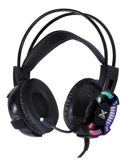 Headset Gamer Vx Gaming Enya Audio 7.1 Led Usb Gh400