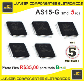Circuito Integrado As15-g As15 As15g Qfp48 - Kit Com 5 Pçs