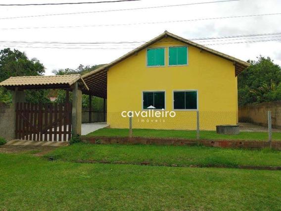 Casa Residencial À Venda, Retiro, Maricá. - Ca2227