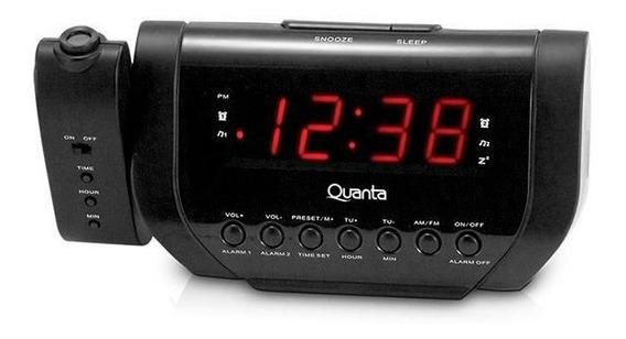 Rádio Relógio Fm Am Digital Alarme Bivolt Leia O Anuncio