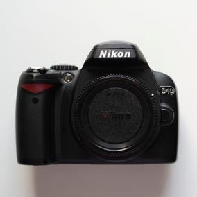 Câmera Nikon D40 - Lente 18-55mm + Bolsa