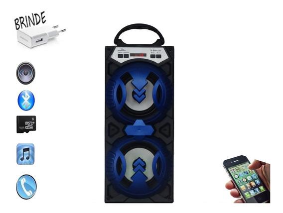 Radio Portatil Bluetooth/usb Azul