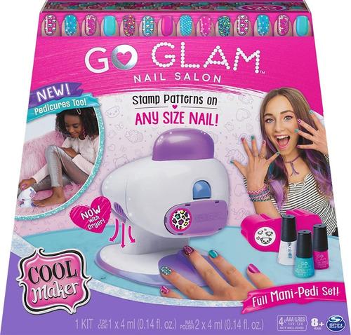 Cool Maker Go Glam Decora Hasta 125 Uñas Niñas Original
