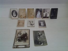 Antiga Fotos Cartão Visitas Aristotypia Volk Curitiba Pr