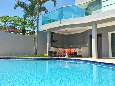 Casa Em Enseada, Guarujá/sp De 250m² 4 Quartos À Venda Por R$ 990.000,00 - Ca224504