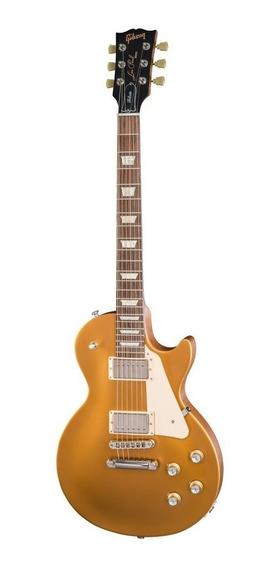 Guitarra Gibson Les Paul Tribute 2018 Satin Gold Semi-case