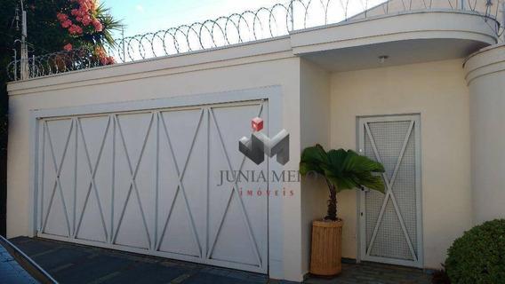 Casa Com 3 Dormitórios À Venda, 240 M² Por R$ 630.000 - Alto Da Boa Vista - Ribeirão Preto/sp - Ca0174