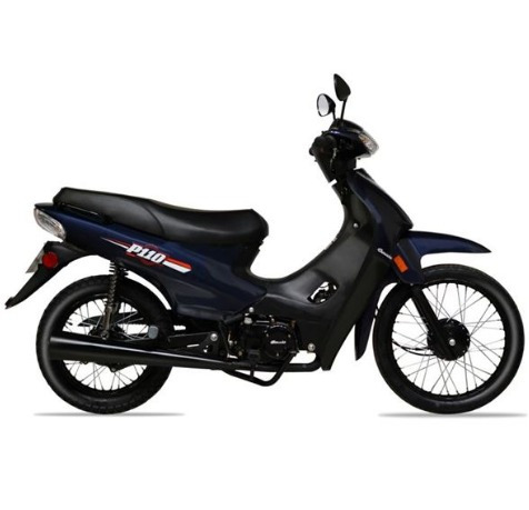 Imagen 1 de 3 de Motos Moto Baccio P 110 + Casco, Vía Confort