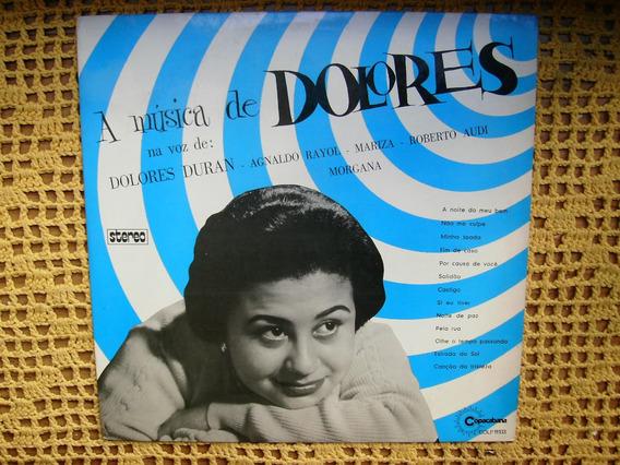 Dolores Duran / A Musica De Dolores - Lp De Vinilo Brasil