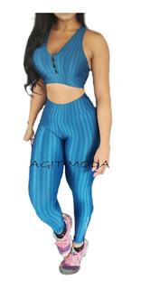 Roupas Feminina Calça Cintura Alta Legging Fitness Malhação