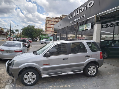 Ford Ecosport Xls 1.6 Flex Completa + Banco De Couro