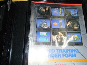 Estojo Clutch Video Tape Training Program 02 Fitas E 01 Livr