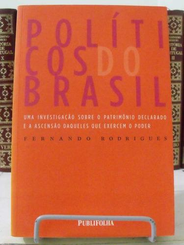 * Livro - Políticos Do Brasil - Fernando Rodrigues