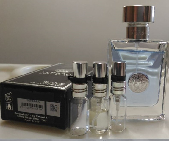 03 Decants 5ml: V. Pour Homme + Eros + The Dreamer