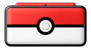Nintendo New 2DS XL Poké Ball Edition vermelho e branco