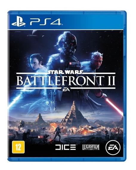 Jogo Star Wars Battlefront 2 Ps4 Mídia Física Português